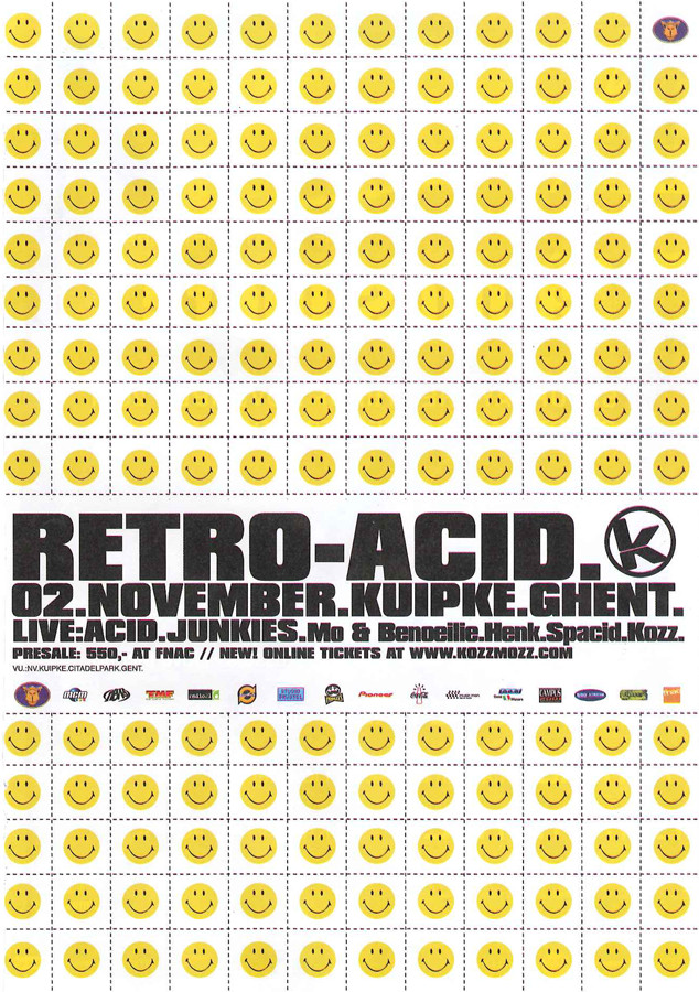 Retro Acid - Fri 02-11-01, Kuipke Ghent