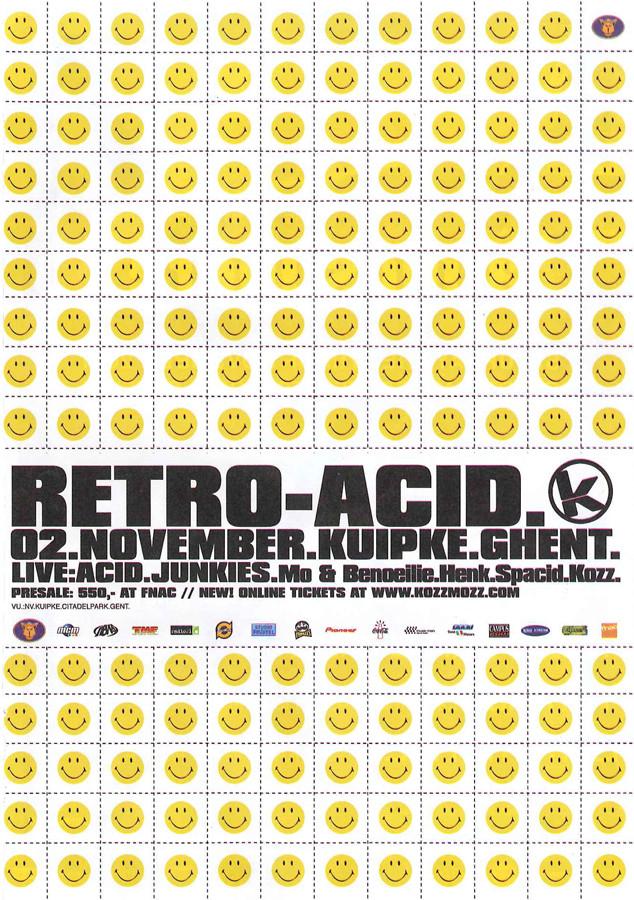 Retro Acid - Fri 02-11-01, Kuipke Ghent