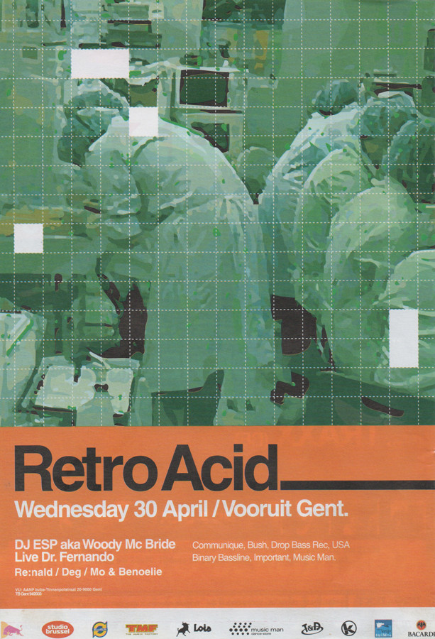 Retro Acid - Wed 30-04-03, Kunstencentrum Vooruit