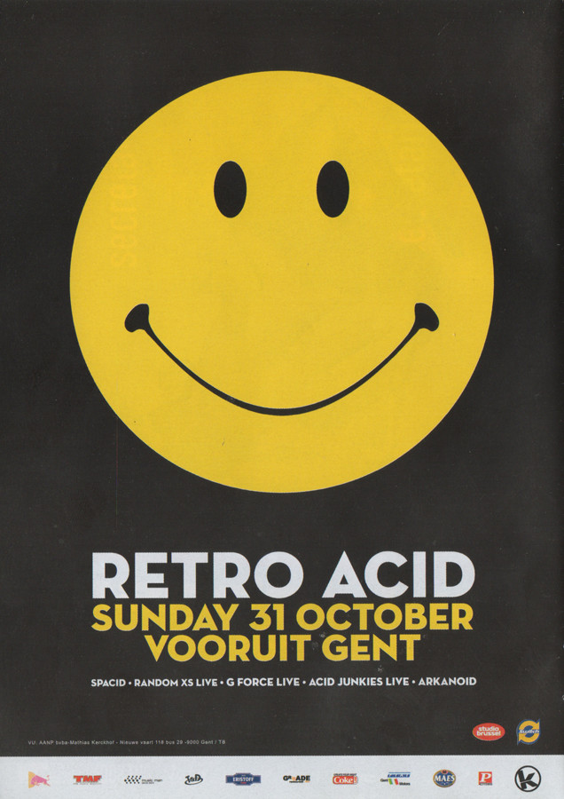 Retro Acid - Sun 31-10-04, Kunstencentrum Vooruit