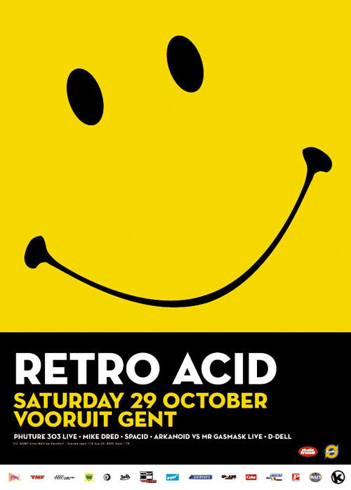 Retro Acid - Sat 29-10-05, Kunstencentrum Vooruit