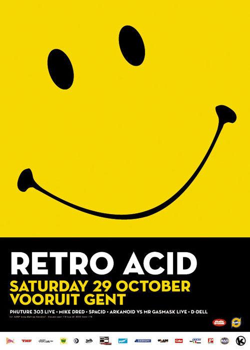 Retro Acid - Sat 29-10-05, Kunstencentrum Vooruit