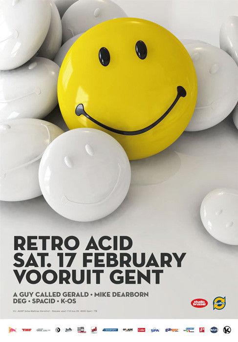 Retro Acid - Sat 17-02-07, Kunstencentrum Vooruit