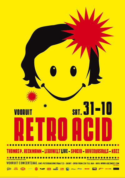 Retro Acid - Sat 31-10-09, Kunstencentrum Vooruit