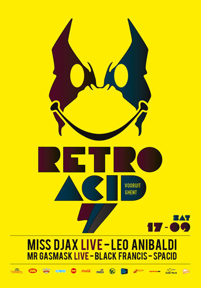 Retro Acid - Sat 17-09-11, Kunstencentrum Vooruit