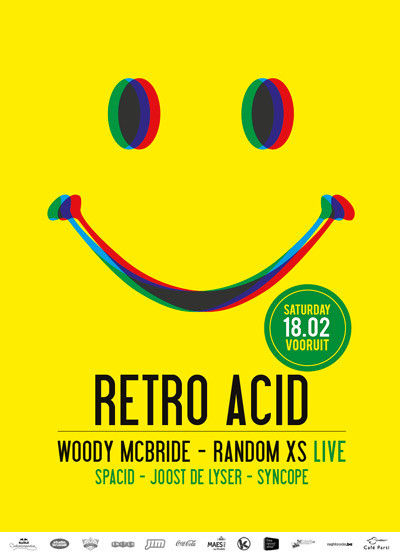 Retro Acid - Sat 18-02-12, Kunstencentrum Vooruit