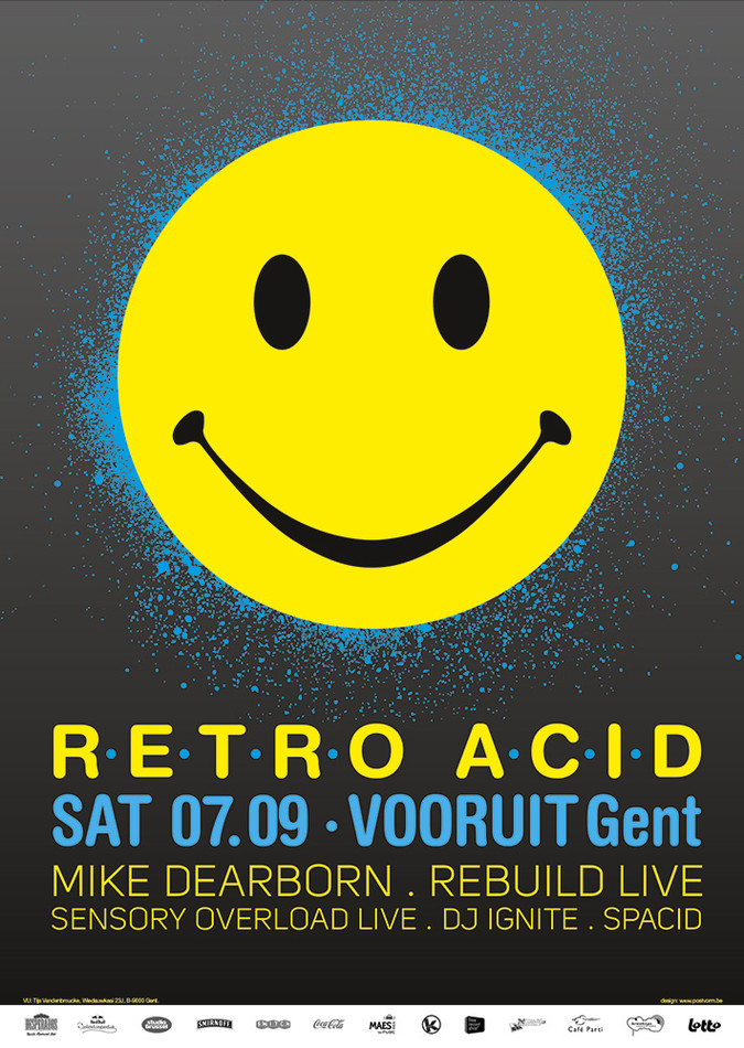 Retro Acid - Sat 07-09-13, Kunstencentrum Vooruit