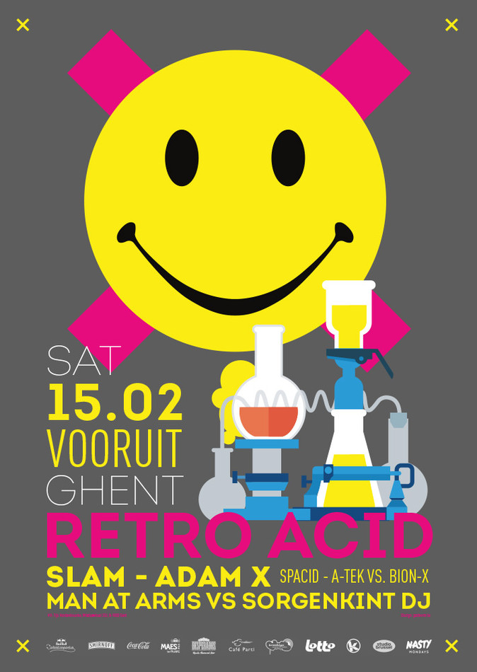 Retro Acid - Sat 15-02-14, Kunstencentrum Vooruit