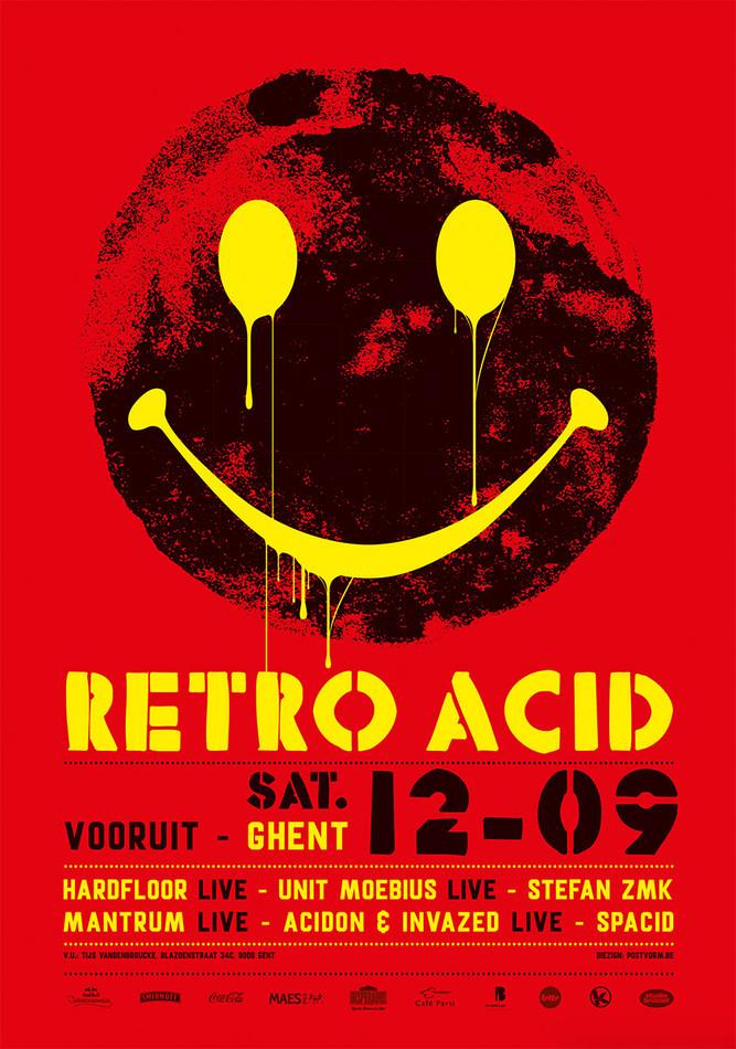Retro Acid - Sat 12-09-15, Kunstencentrum Vooruit