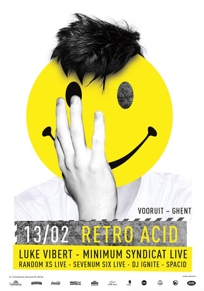 Retro Acid - Sat 13-02-16, Kunstencentrum Vooruit